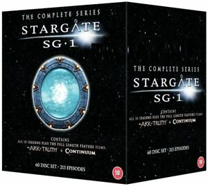 Details about STARGATE SG-1 1-10 1997-2008: COMPLETE+ARK of TRUTH+CONTINUUM  SG1 R2 DVD not US