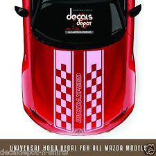 Fits Mazda Miata MX-5 CX-3 CX5 Mazda3 Mazda5 Mazda6 Etc. DUAL RALLY STRIPES