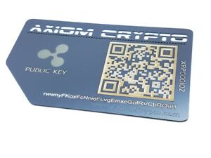 Ripple cold storage cryptocurrency wallet
