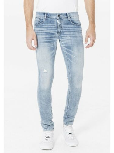 jeans uomo skinny antony morato fredo stretto in fondo art.w00908  new 2018