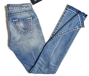 True-Religion-349-Women-039-s-Billie-Straight-Super-T-Jeans-WDAAB915A1