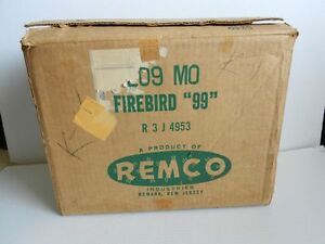 Vintage-Remco-Firebird-99-Sports-Car-Toy-Dashboard-Original-Box