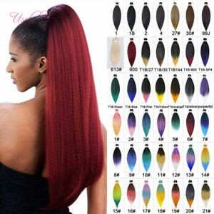 Easy Braids Hair 5pcs Ombre Braiding Crochet Hair Extensions 20inch Synthetic Ebay