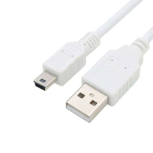 usb cable for canon PowerShot A10 A20 A30 A40 A60 A70 A75 A80 A85 A95 A100 white