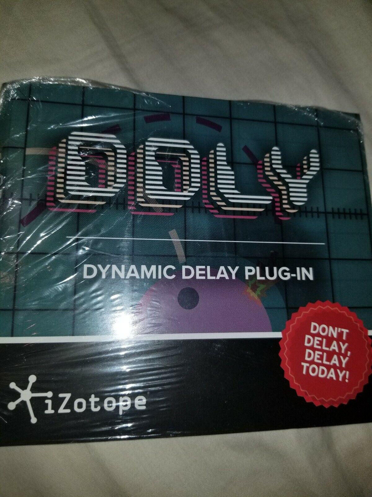 IZotope DDLY Dynamic Delay Plugin eDelivery JRR Shop