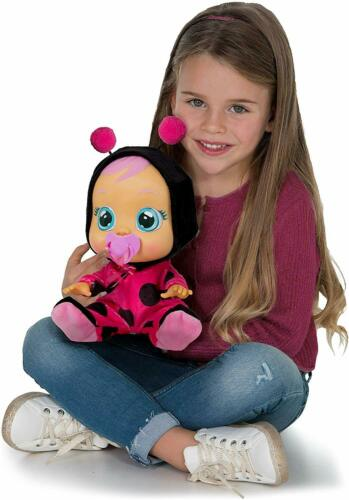 Cry Babies Lady The Ladybug Doll Cries Real Tears and Makes Realistic Baby Sound