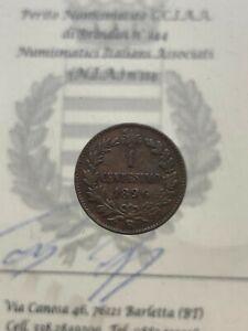 1-Cent-1896-Ziffer-034-6-034-Low-Bewertet-Vereinigte-D-039-Italia-Umberto-I-Nicht