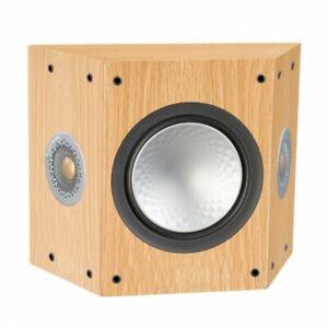 COPPIA DIFFUSORI SURROUND MONITOR AUDIO SILVER FX 6G NATURAL OAK CASSE SPEAKERS