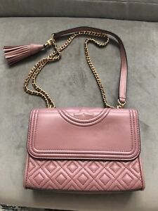 3b84ae70d9b Image is loading Authentic-TORY-BURCH-FLEMING-Small-CONVERTIBLE-Crossbody- BAG-