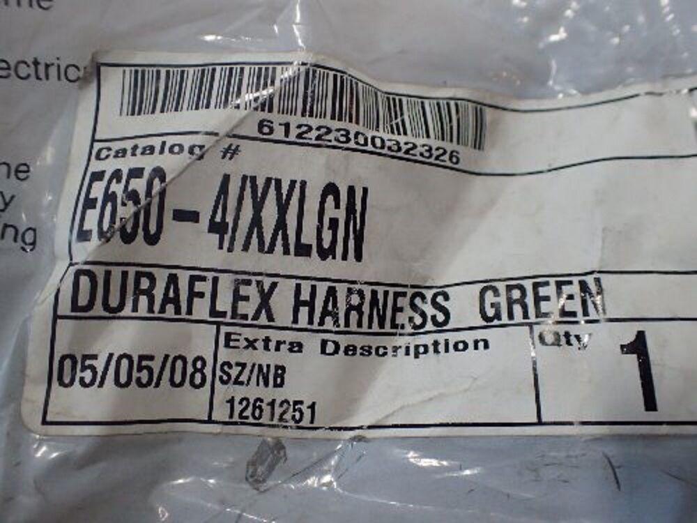 Miller Miller Miller Duraflex E650-4/XXLGN arnés de seguridad (nuevo en paquete) 6fface