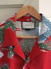 Gucci Camisa de Viscosa Bolos Gran Diseño fue £ 450