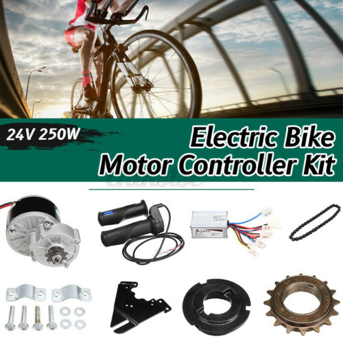 """24V 250W Electric Bicycle Bike Motor Conversion Kit for 22-28/"""" Ordinary Bike US"""