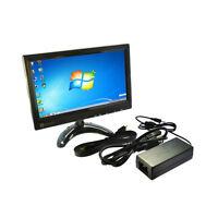 Ips Lcd Monitor 10.1 Inch Pc Reverse Screen With Av Hdmi Vga Audio Speaker