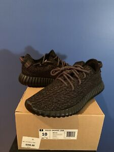 809eff9e9497b Adidas Yeezy Boost 350 Pirate Black (2016) - Size 10 Worn Once