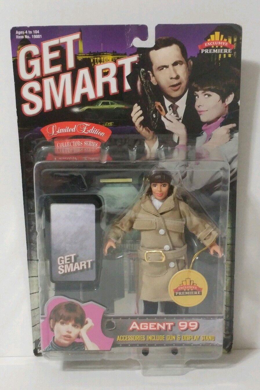 Get smart action - figur agent 99 - limited - edition - spielzeug