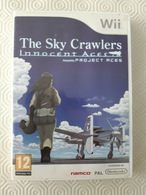THE SKY CRAWLERS INNOCENT ACES sur Nintendo Wii Complet FR avec notice