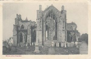 Postcard-Melrose-Melrose-Abbey-from-East