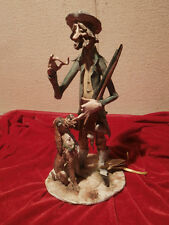 ANTIKE Keramik Figur Italien TP Ceramiche MIT ZERTIFIKAT 35 cm HANDARBEIT