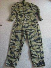 Vintage Tiger Stripe Coveralls, Flight Suit, USMC, Special Forces ~ HEAVY Zipper