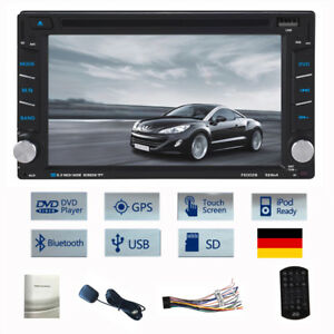6-2-Doppel-2Din-Car-Autoradio-Bluetooth-Navigation-GPS-DVD-USB-SD-TF-FM-MP3-TV