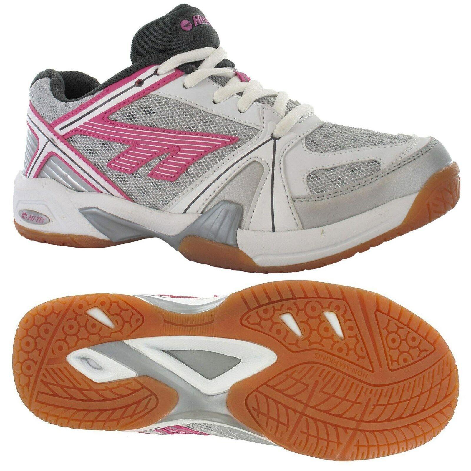 Hi-Tec Lite Ladies Indoor Court shoes Trainer Size Squash Badminton