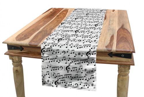 Musik Tischläufer Zusammenfassung Clef Blatt