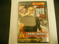 Fitness De Cuisine Better Food Better For You Fitness Chef Thom Zwawa 3-Disc DVD