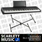 Korg B1 88 Note Digital Piano Black w/ X-Braced Stand + 3 Years Warranty **NEW**