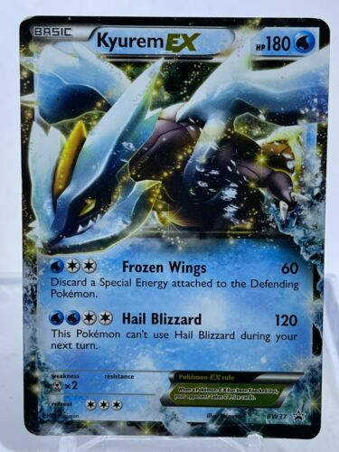 Kyurem ex - BW37 Black & White Promo - Ultra Rare Pokemon Card