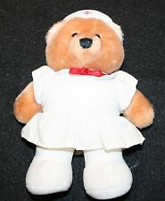 Vintage Dakin NURSE Plush Bear Lovey Doll Toy