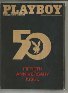 Playboy-January-2004-Fiftieth-Anniversary-Issue-Collector-039-s-Edition-more