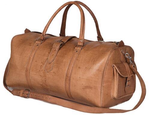 Vintage Reisetasche Top Sporttasche Braun Xl Reisegepäck Leder Gymbag Weekender RxqwnYvdR