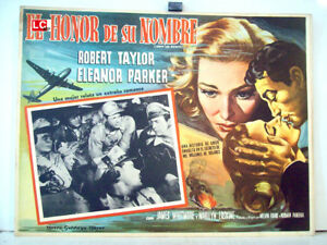 ABOVE-AND-BEYOND-ROBERT-TAYLOR-1953-OPTIONAL-SET-MEXICAN