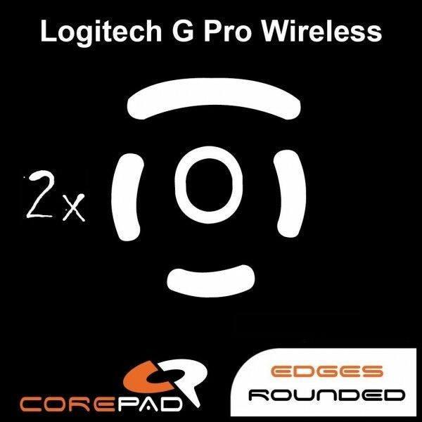 USA COREPAD Skatez Logitech G Pro Wireless Replacement Mouse Feet  Hyperglides