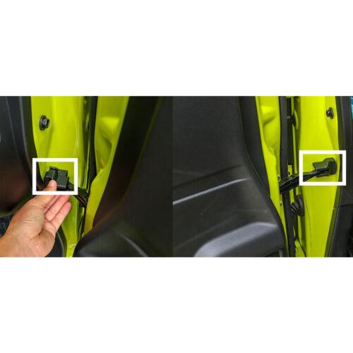 2xTürstopper Schnalle Stopp Rostgehäuseabdeckung pass für Suzuki Jimny 2019-2020