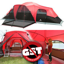 Ozark Trail 3 Room 10 Person Waterproof Tent Large Family Camping Outdoor Cabin