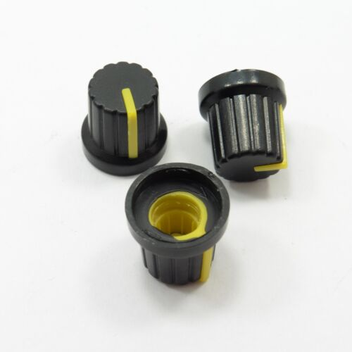 Plastic Volume Control Knob High 15mm for Rotary Potentiometer Sound Switch