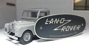 Toylander-Pedali-Land-Rover-Serie-Australia-Mezza-Scala-Acidato-Vasca-Ant-Badge