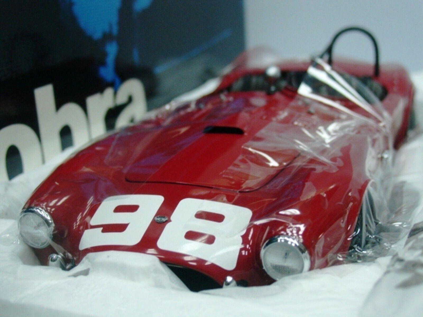WOW EXTREMELY RARE AC Shelby Cobra 260 B Krause LA GP USRRC 1962 1 18 Exoto