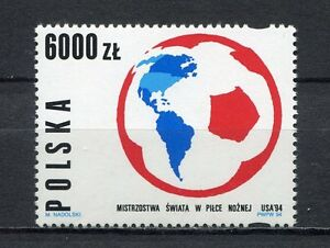 36017-Poland-1994-MNH-World-Soccer-Cup-USA-1v-Scott