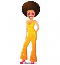 CARTOON DISCO DANCER STANDEE * standups * cutouts * 70s * seventies
