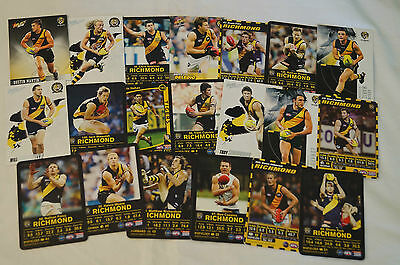RICHMOND TIGERS- Collection of 20 Cards inc. COTCHIN, NEWMAN,DELEDIO etc
