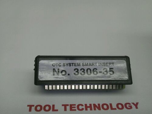 3306-35 Genisys Monitor 4000 Mentor Determinator OTC SSI System Smart Insert No
