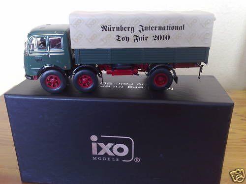 Rare Ixo Mercedes LP 333 camion Nuremberg Toy Fair 1 de 350 le monde 1 43 NEUF