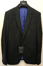 "Paul Smith Black Blazer / Suit Jacket LONDON BYARD Tailored Fit UK38R Chest 38"""
