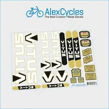 VITUS classic FRAME DECALS perfect for resprays