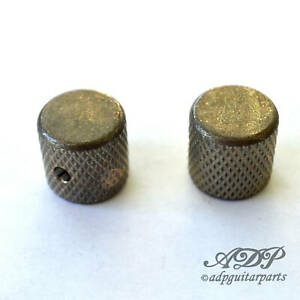 2x-Boutons-relics-039-59-P-Bass-flat-know-aged
