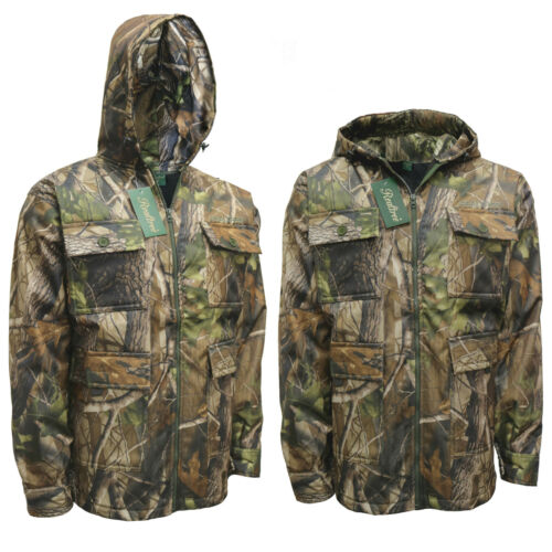 Men/'s Water Proof Jungle Suit Jacket Trousers Fishing Realtree Coat Safari M-6XL