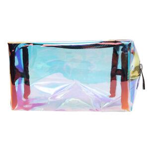 Laser-Transparent-Holographic-Cosmetic-Zipper-Bag-Makeup-Pouch-Pen-Pencil-Case-D