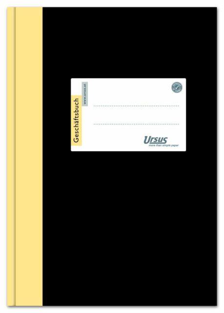 Ursus Green 608352 Geschäftsbuch - A4, 96 Blatt, 80g/qm, 9 mm liniert